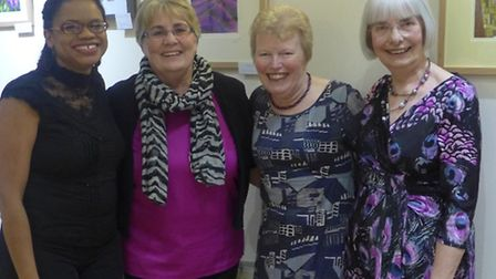 Curwen's Gallery art exhibition: Brenda Brown, Stacey Leigh Ross and Anna Pye are members of the Roy