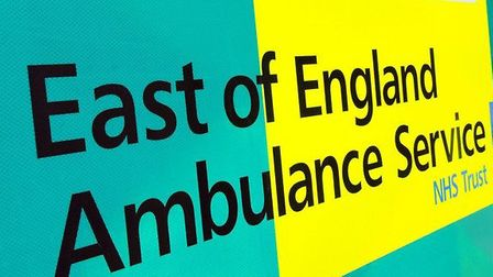 East of England Ambulance Service were called to the scene.