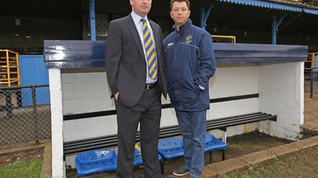 St Albans FC owners John McGowan and Lawrence Levy