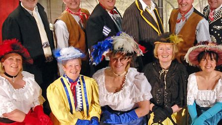 Old Time Music Hall cast