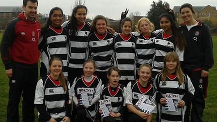 Harpenden RFC's girls' section is flourishing in its first year.