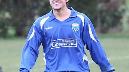 Jimmy Hartley, formerly of Stevenage and London Colney, made his debut for Harpenden Town on Saturda