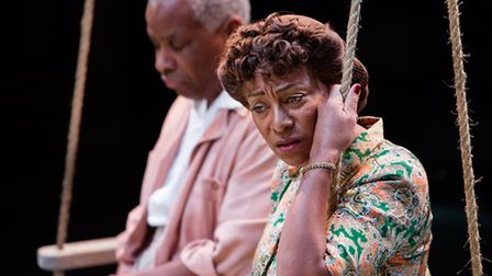 A scene from All My Sons.