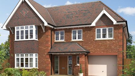 An Oakbridge Homes development similiar to what will be built to the rear of 69 Roundwood Lane in Ha