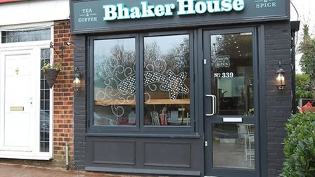 The Bhaker House tea and coffee shop