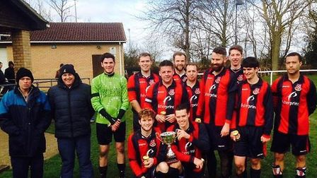 Alconbury are the Stanjay Trophies Invitation League champions.