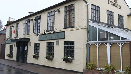The Engineer pub in Harpenden