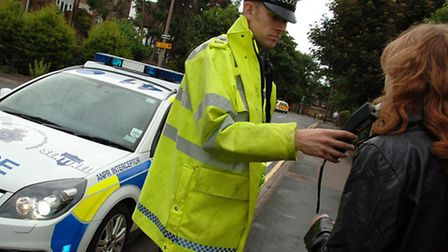 Police stepped up drink-drive patrols in the run-up to Christmas