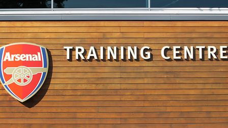 The Gunners' training grounds in London Colney
