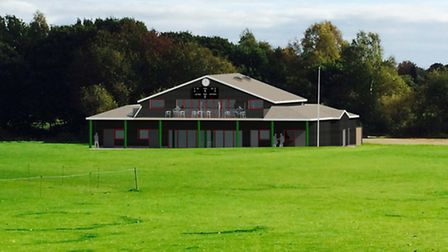 An architectural impression of Harpenden Cricket Club's proposed pavilion