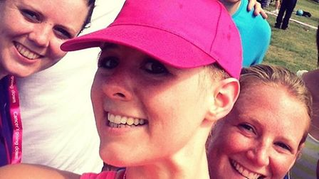 Breast cancer survivor Amy Williams is taking part in World Cancer Day on February 4