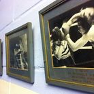 The pictures on the walls at St Albans and London Colney Boxing Club