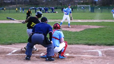 The Haverhill Blackjacks slugged their way to a victory over the Cambridge Monarchs