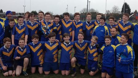 Verulamians U14s will play in Herts and Middlesex Division Five next season after securing promotion