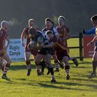 Harpenden about to go over for a second try