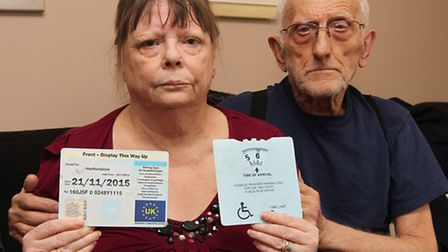 Barbara and Anthony Attrill feel they were badly treated by bailiffs when they came to collect money