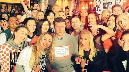 Living the Dream joined Dermot on his 24 Comic Relief 'Danceathon'