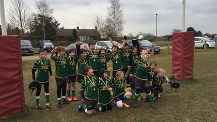 Stags Under 10s won at the weekend.