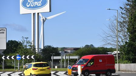 Ford's chief has insisted that the planned closure of its Bridgend plant was unrelated to Brexit but