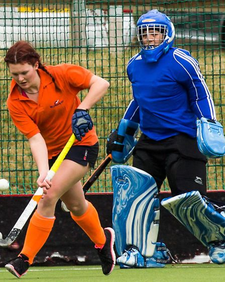 Sarah Mobbs scored in the 3rds' win over Colchester. Picture: Chris Hobson