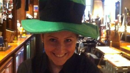 O'neills' Paddy's day celebrations are well under way