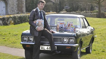 John Croft with his Vauxhall Victor. Picture: HELEN DRAKE