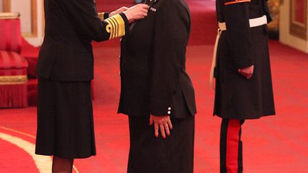 Alison Roome-Gifford, Assistant Chief Constable, Hertfordshire Constabulary,is decorated with the Qu