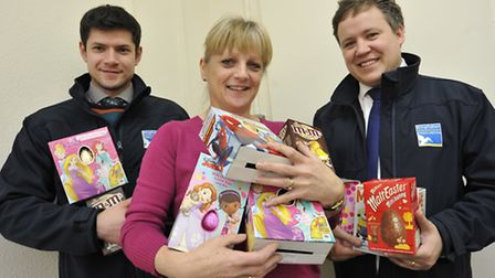 Kingfisher Independant Funeral Services, Huntingdon, are running an Easter Egg appeal for Holly Ward