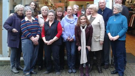 Volunteers at Age UK Royston