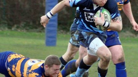 Luke Warburton scored a try as St Neots won 40-14 at Bedford Swifts in Midlands Division Four East (