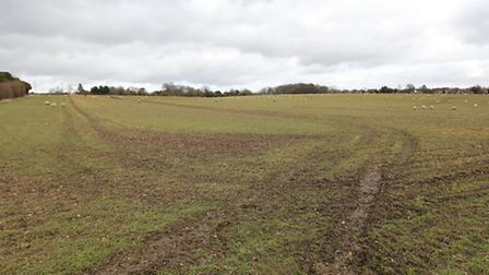 Green Belt land in Harpenden in between Cooters End Lane and Luton Road, earmarked for possible urba