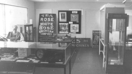 Royston Museum in its early days in the town hall.