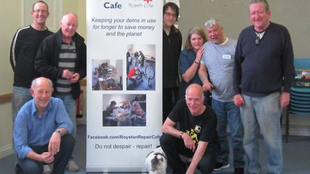The Royston Repair Cafe team.