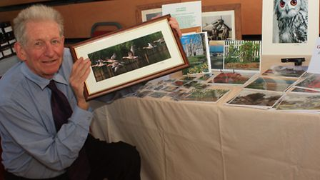 Photographer Clive Porter launched a new range of greeting cards, titled This England, at Royston Cr
