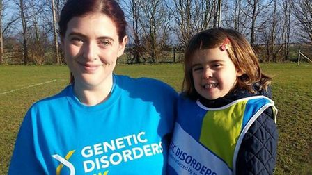 Hayley Woods is running for Genetic Disorders UK.