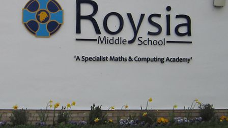 Roysia Middle School has been given a welcome funding boost.