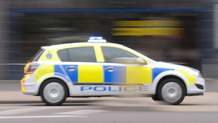 Police have been called to two incidents on Huntingdonshire A-roads