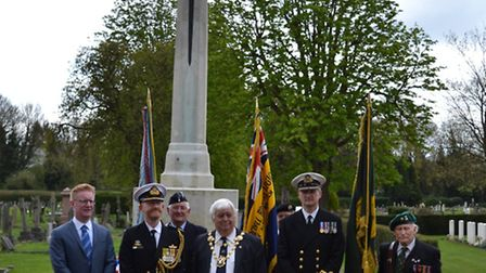 A special Anzac service was held in St Albans