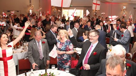 St Albans Chamber of Commerce St George's Day lunch