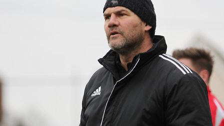 Royston Town manager Steve Castle