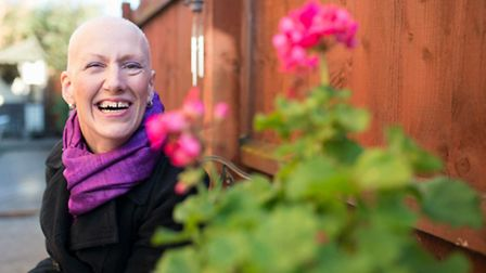 Sarah Stones, who is urging others to help fight cancer. Picture: CAROLINE LOVES PHOTOGRAPHY