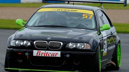 The e46 BMW M3 that Robert Gilham will race in.