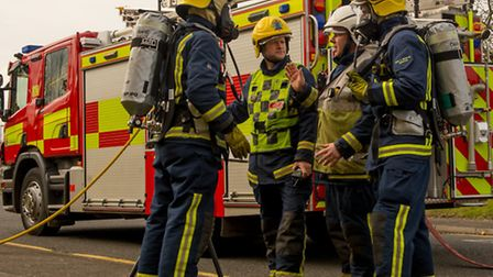 Firefighters were called to an incident in Bricket Wood