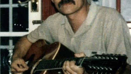 Tony's dad Barry Farrugia, who died after contracting deadly infections Hepatitis B and C, plus HIV,