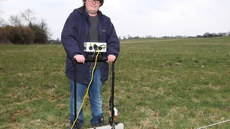 PhD student at Bristol university Alexander Thomas who grew up in Harpenden uses a special machine t