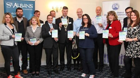 The launch of St Albans Business Festival