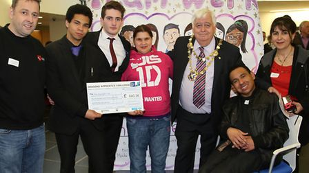 St Albans and Harpenden schools competed in the 6th annual Dragons Apprentice Challenge: Team Werk f