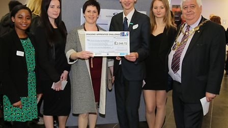St Albans and Harpenden schools competed in the 6th annual Dragons Apprentice Challenge: Miracle Wor