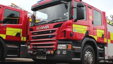 Fire fighters visited Smug Oak House Care Home today (Friday, May 29) to ensure it was safe after ye