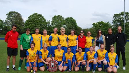 Royston Town Ladies win Herts Plate